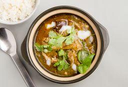 Curry Tailandés de Pasta Verde