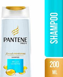 Shampoo  Pantene Brillo Extremo x 200 mL