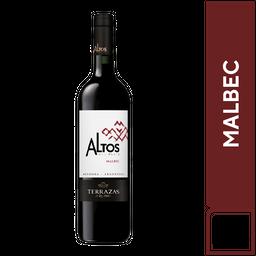 2 Altos Del Plata Malbec 750 ml