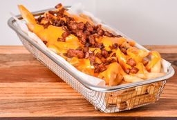 Papas con Cheddar & Bacon