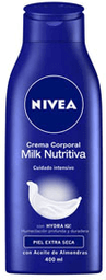 Crema Corporal Nivea Body Milk Nutritiva 400 mL