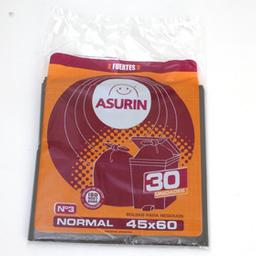 Bolsas De Residuos Asurin 45 X 60 Cm - 30 U