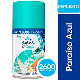 Glade Desodorante De Ambiente Automático Paraíso Azul Repuesto