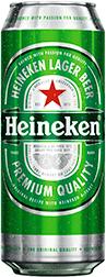 Cerveza Heineken Lager Lata 473 mL