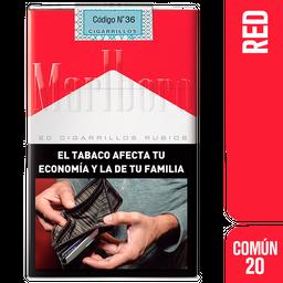 Marlboro Cigarrillos Red Comun 20U
