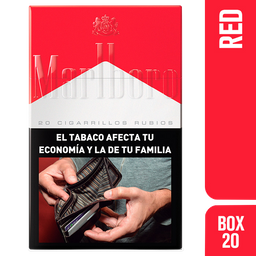 Marlboro Cigarrillos Red Box 20U