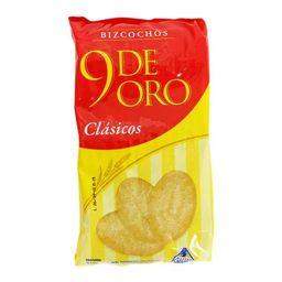 9 De Oro Bizcochos clasicos
