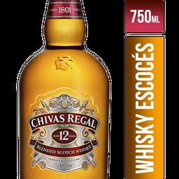 Chivas Regal 12 Whisky Anos
