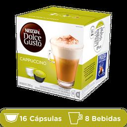 Dolce Gusto Cafe En Capsulas Cappuccino Capsulas