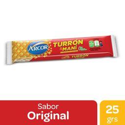 Arcor Turrón con maní 25g