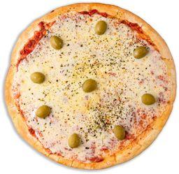 Pizza Muzzarella & 6 Empanadas