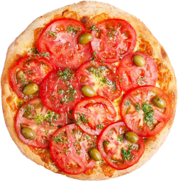 Pizza Napolitana con Jamón 2x1