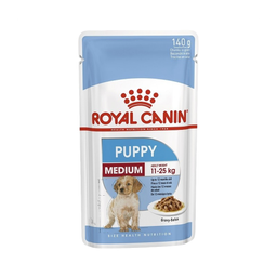 Alimento Para Perro Royal Canin Pouch Medium Puppy 140 g