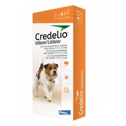 Comprimido Masticable Credelio Para Perros de 5.5 a 11 Kg