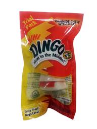 Snack Para Perro Dingo Mini Hueso Con Carne 1 U