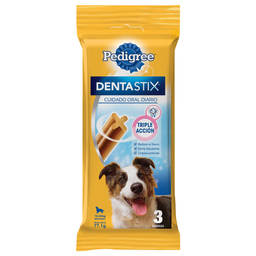 Hueso Dental Pedigree Raza Mediana 77.1 g