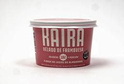 Helado Kaira de Frambuesa 120 ml