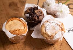 Muffins de Vainilla by Mooi x 4