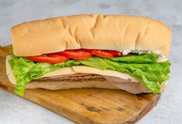 Sandwich de Milanesa de Carne Completo