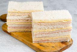 Sándwich de Miga de J&Q X 3