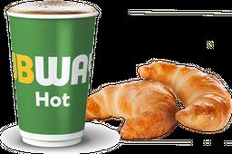 2 Medialunas + Café