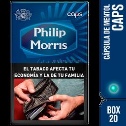 Philip Morris Cigarrillos Caps Box 20U
