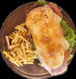 Sándwich Milanesa Completa