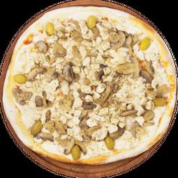 Pizza Pollo al Champiñón