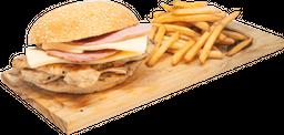 Sándwich Doble J y Q
