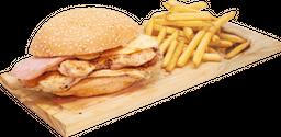 Hamburguesa Pollo JyQ