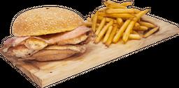 Hamburguesa Pollo Bacon