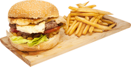 Hamburguesa Completa