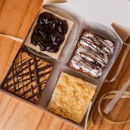 Caja degustación mini cakes x4