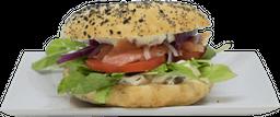 Sándwich Salmón