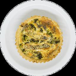 Tarta Brócoli, Queso y Amapola