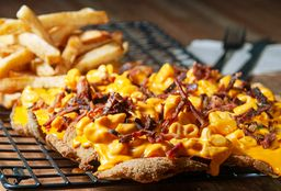 Milanesa Mac & Cheese