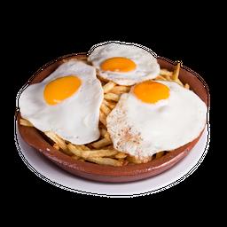 Papas con Huevos Rotos