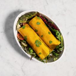 Roll Wrap de Mango & Verdes