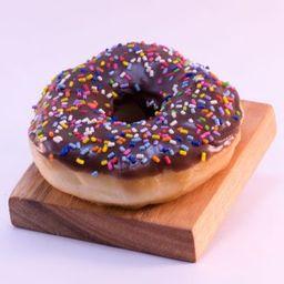 Mini Dona Glaseada Choco & Sprinkles