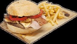 Super Tom  + Papas - Burger Day