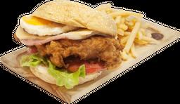 Tom Chicken + Papas - Burger Day