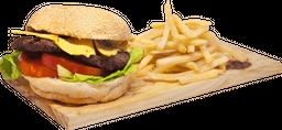 Burger Mexicana + Papas - Burger Day