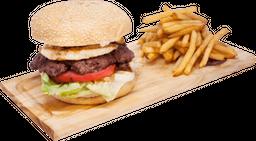 Burger Colombiana + Papas + Burger Day