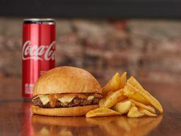 Combo Emmental Cheeseburger