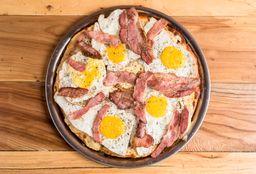 Pizza de Panceta & Huevo