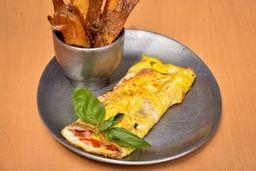 Omelette de Jamón & Queso