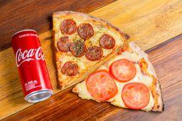 Combo 2 Slice de Pizza