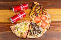 Combo 4 Slice de Pizza
