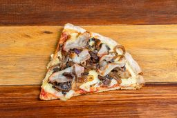 Slice Pizza Champignones