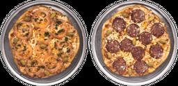 2 Pizzas Grandes a Elección